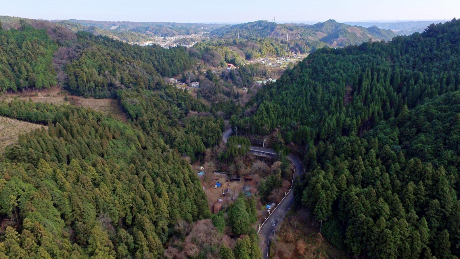 秋川渓谷周辺にはハイキングスポットが多数あります。四季を感じながら散策も良し。